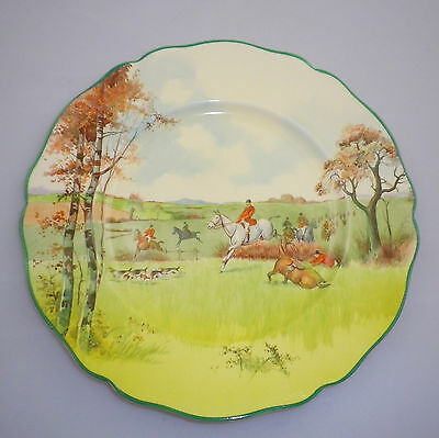 "Royal Doulton Series Ware ""FOX HUNTING A "" Pattern""  RACK Plate"