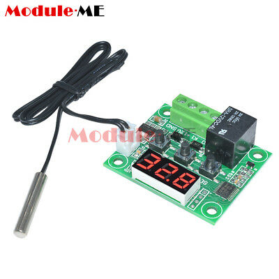 -50-110°C 12V Red W1209 Digital Thermostat Temperature Control Switch Sensor