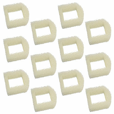 Pack of 12 Foam Pre-Filters for Drinkwell Avalon Lotus Pagoda Sedona Multi-Pet