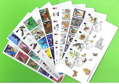 G.B. 1998 Collection of ten different First Day Covers