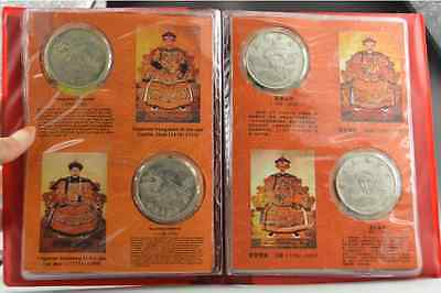 Rare Chinese Old Collectibles Tibet Carving The 12 Emperors Of Qing Dynasty