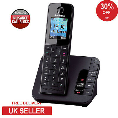 Panasonic KX-TGH220 Cordless Phone with Nuisance Call Block and Answerphone