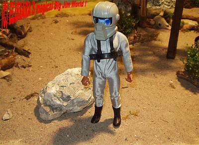 Big Jim - Geheimagent / Spion 004 im Weltall! Space Mission Set + mask ! Mattel