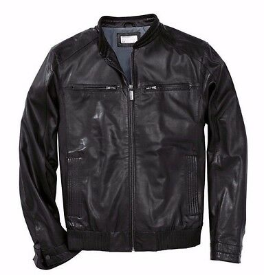 PORSCHE DESIGN Driver's Selection - Men's Leather Jacket, Nappa Lambskin