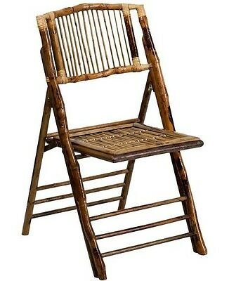 Lot Of 4 New American Champion Bamboo Folding Chair