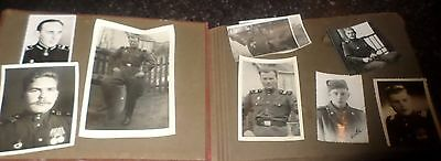 Red Army Soldier's Photo Album, 1945, Guards Engineer Unit