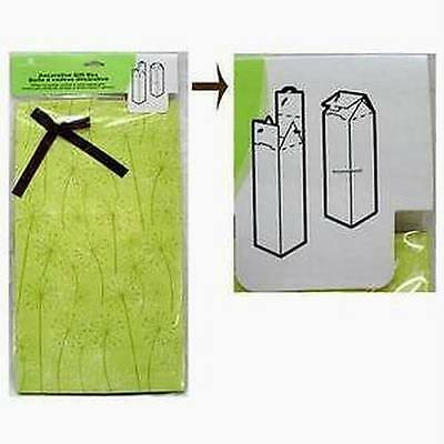 Lot of 24 American Greetings Foldable Bottle Gift Boxes
