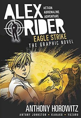 **NEW** - Eagle Strike Graphic Novel (Alex Rider) (PB) - 1406366358
