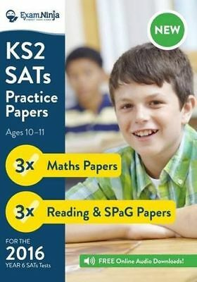 NEW 2016 KS2 SATs Practice Papers (English Reading, SPaG & (PB) 0993176410