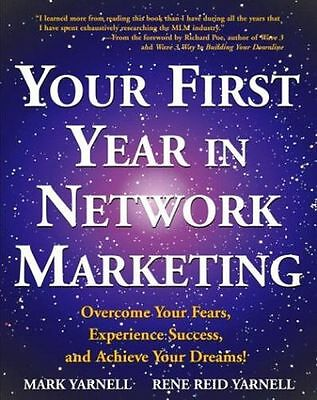 **NEW** - Your First Year in Network Marketing (PB) - 0761512195