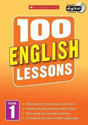 100 English Lessons: Year 1 (100 Lessons - 2014 Curriculum) (PB) - 1407127594