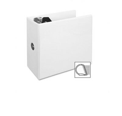 (Lot Off 12) New 5 Inch White D Ring View Binders