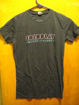 COLDPLAY 2012 ~ Juniors Small ~ MYLO XYLOTO Tour T Shirt