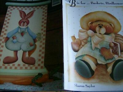 B Is For Baskets, Birdhouses, Bunnies & Bears Painting Book