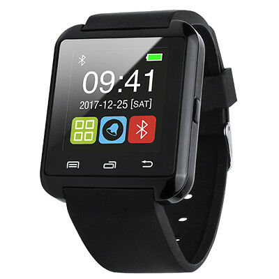 Reloj Inteligente Smart Watch Bluetooth para Android Ios Iphone Negro