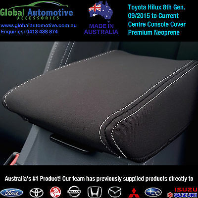 Toyota HiLux Neoprene Centre Console Covers - Workmate, SR, SR5 8th Gen N80