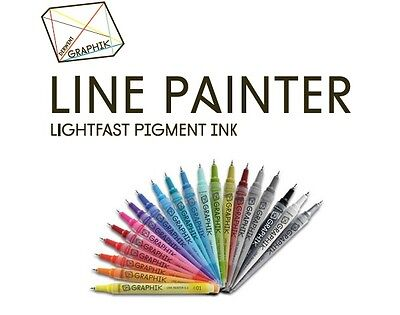 Derwent Graphik Line Painter 0.5mm Artist Paint Pen