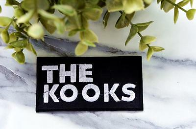 THE KOOKS Logo Music Iron on Patch Band Retro Embroidered Badge Pin Patches Hard