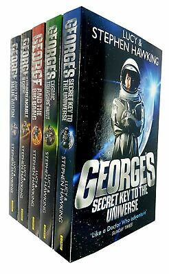 George's Secret Key to the Universe Series By Stephen & Lucy Hawking 5 Books Set