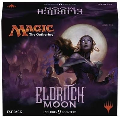 Shadows Over Innistrad Fat Pack MTG Magic the Gathering 9 Booster Packs Deck Box