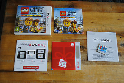 Jeu LEGO CITY UNDERCOVER THE CHASE BEGINS pour Nintendo 3DS Complet version FR