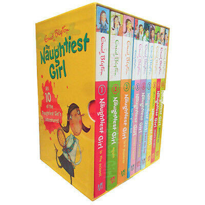 Naughtiest Girl Collection By Enid Blyton 10 Books Box Set Saves The Day ,New