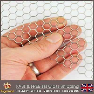 8mm Hole Hexagonal Mesh Mild Steel Perforated Sheet - 8.7mm Pitch-1mm Thickness