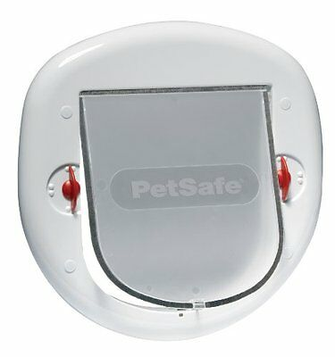 Petsafe Staywell Big Cat/Small Dog Pet Door White Pet Supplies Manual 4-Way Loc