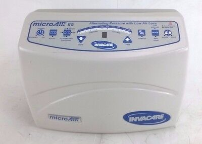 Invacare MicroAIR MA65 Lateral Rotation Mattress Air UNTESTED - PUMP ONLY