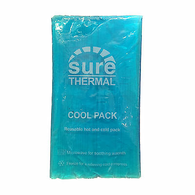 Sure Thermal Xl Re-Usable Gel Hot/cold Heat Cool First Aid Microwave/freeze Pack