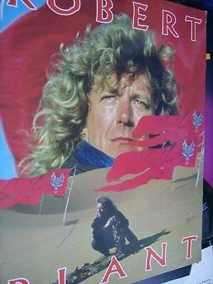 Robert Plant Now And Then Tour Program Book