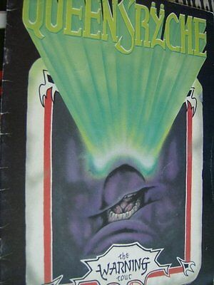 Queensryche  The Warning Tour 1984/85 Program Book