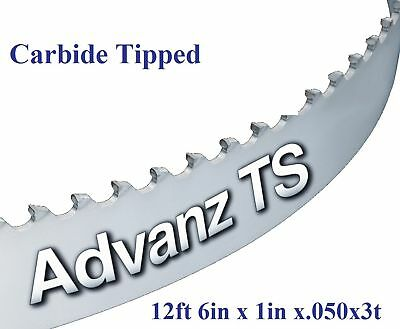 "12' 6"" (150"") x 1"" x 3T CARBIDE TIPPED BANDSAW BLADE!"