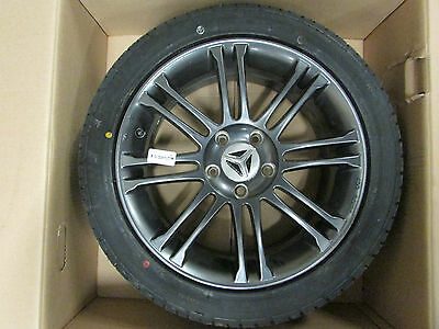 "OEM Genuine Polaris Slingshot 17"" Gray Front Mag Wheel Tire Assembly"