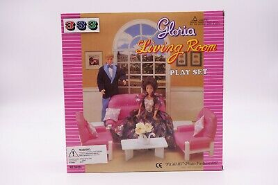Gloria , Barbie Size Doll House Furniture/(94014) Living Room Play Set