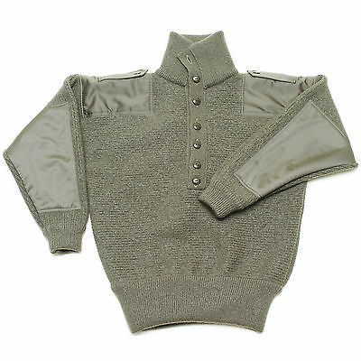 100% Merino Wool New Dachstein Woolwear Military Pullover Sweater from Austria