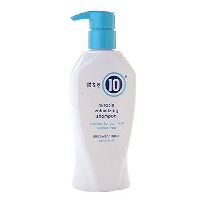 It's A 10 Miracle Volumizing Shampoo Nutrition Sulfate Free 10 Oz / 295.7 Ml