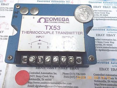 Omega TX53 Thermocouple Transmitter