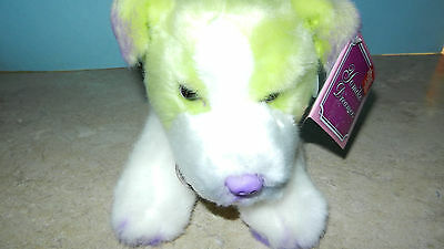 Russ Yomiko Dreamers Green Jack Russell Terrier Plush Stuffed Dog NEW NWT