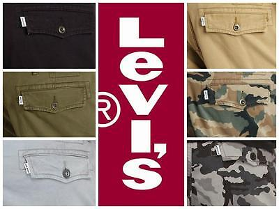 Levi's Men's Relaxed Fit Ace Cargo Shorts Many Colors Free Shipping ****NWT****