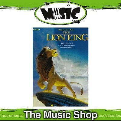 New The Lion King Movie Soundtrack Music Book for Easy Piano