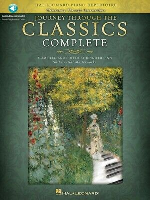 New Journey Through the Classics Complete Music Book for Piano with 2x CDs