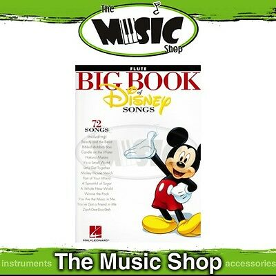 New The Big Book of Disney Songs for Flute Music Book