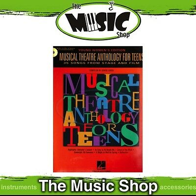 New Musical Theatre Anthology for Teens Music Book - Young Women's Edition & CD