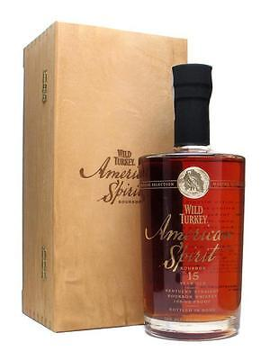 Wild Turkey American Spirit 15 Year Old Kentucky Bourbon Whiskey 750ml Limited
