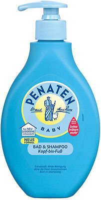 PENATEN - Bath & Shampoo - 400 ml bottle