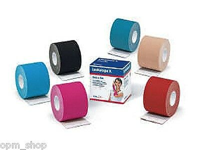 Leukotape® K, Sport-Tape, kinesiologische Tapes, Tape-Verband, div. Farben