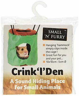 Small N Furry Crink L Den Pet Supplies Great Fun For Small Animals Great To Rel