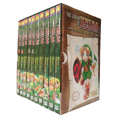 Akira Himekawa 's The Legend of Zelda Series Collection 1-10 Books Box Set NEW