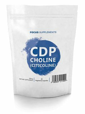 CDP Choline (Citicoline) - (250mg Tablets)  *Improve Focus, Memory and Learning*